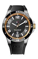 Reloj Tommy Hilfiger 1790861 de cuarzo para hombre con correa de silicona, color negro de Tommy Hilfiger