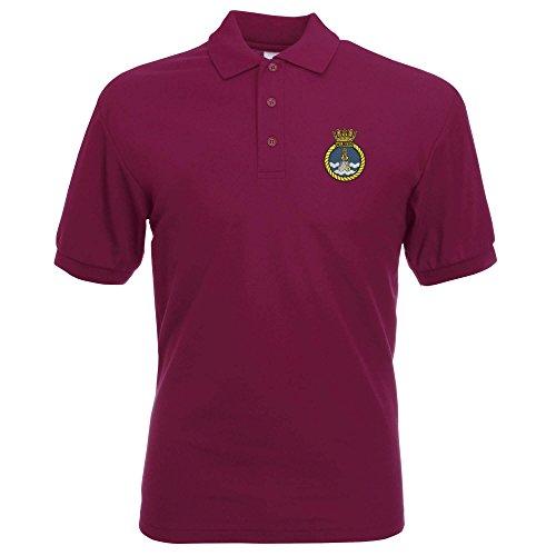 Pineapple Joe'sHerren Poloshirt burgunderfarben