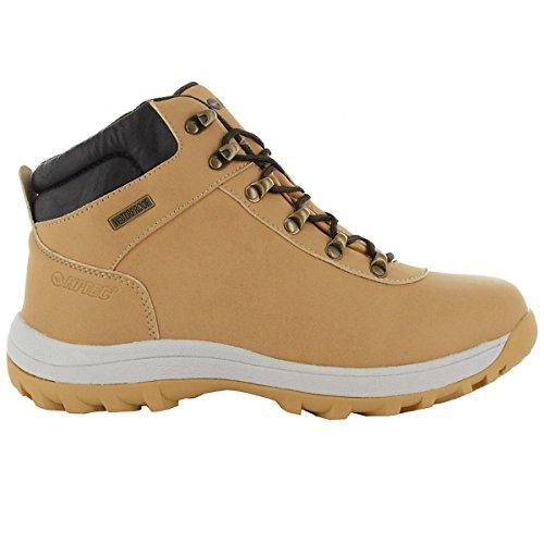 Hi-Tec Norri Mid WP Herren Chaussures de Plein air Camel-Brun Chaussures Homme Baskets Top