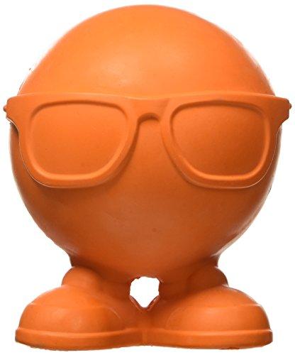 William Hunter JW Pet Hipster Cuz Assistant Toy Tough Squeaker Erratic Bounce Multicolor Large -