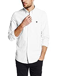 Timberland Herren Businesshemd LS Slim Rattle Rvr O