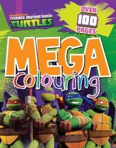 Image of Nickelodeon Teenage Mutant Ninja Turtles: Mega Colouring Book