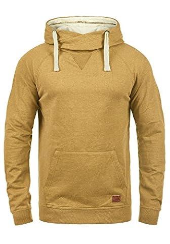 BLEND 703585ME Sales Herren Kapuzenpullover Hoodie Sweatshirt aus hochwertiger Baumwollmischung, Größe:XL, Farbe:Mustard Yellow (72513)