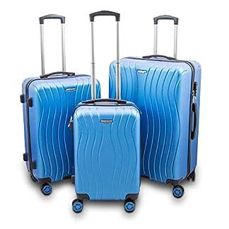 BERWIN-Kofferset-3-teilig-Reisekoffer-Trolley-Hartschalenkoffer-ABS-Teleskopgriff-USB-Anschluss-Modell-Angelina