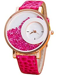 Exotica Watch For Girls With Attractive Round Dial With Pink Colored Leather Belt | Suitable For Casual Wear |...
