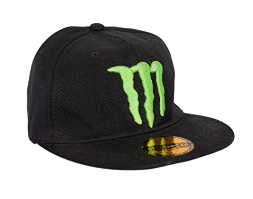 Krystle Unisex Cotton Black Monster Hip Hop Snapback Cap  available at amazon for Rs.245
