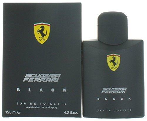 Ferrari Scuderia Black Eau de Toilette, Uomo, 125 ml