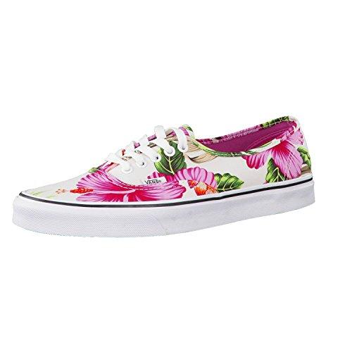 Vans U Authentic - Zapatillas Unisex, Color Blanco (Hawaiian Floral),