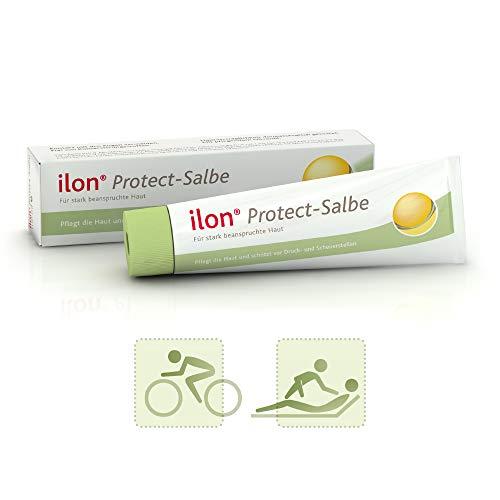 ilon Protect Salbe 100ml - effektiver Schutz und Pflege strapazierter Haut. Schützt vor Wundreiben, Wundscheuern und beugt Hautentzündungen vor. Bei sportlicher Belastung oder in der häuslichen Pflege -