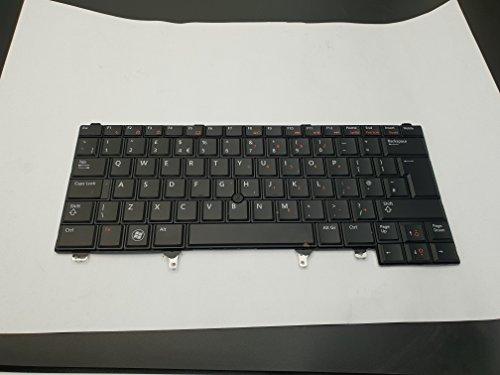 UK-Layout Schwarz Farbe Laptop Ersatz Tastatur mit Maus Laserpointer für Dell PN: pk130fn1e12nsk-dv2uc 0U pk130fn3a12mp-10F56gb6698pk130fn4a129z.n5muc. 00U (Dell-tastatur-taste Ersatz)