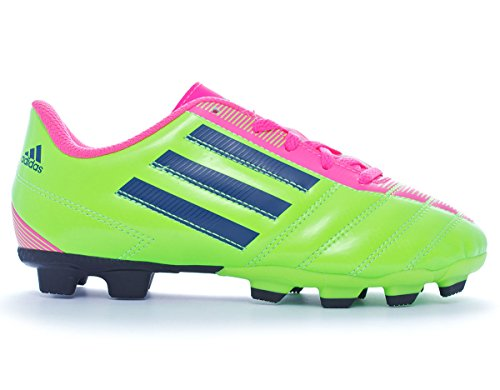 Adidas Taqueiro FG J boys, cuir lisse, lacet