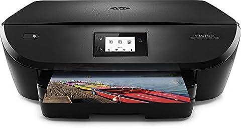 HP ENVY 5540 (G0V53A) All in One Fotodrucker (A4, Drucker, Scanner, Kopierer, WiFi Direct, Duplex, HP ePrint, Apple AirPrint, HP Instant Ink kompatibel, USB, 4800x1200) schwarz