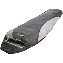 EXPLORER LIGHT 600 Schlafsack ultraleicht klein warm 210 x 75 cm Mumienschlafsack Hüttenschlafsack -2°C Outdoor Camping Kapuze Wandern Sommerschlafsack Kompressionspacksack