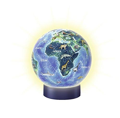 Ravensburger 11844 3D-Puzzle Erde Im Nachtdesign, Nachtlicht