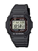Casio G-SHOCK GW-M5610-1ER: Reloj radiocontrolado de caballero, correa de goma de Casio