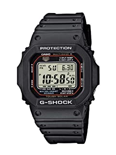 Casio G-Shock Herren-Armbanduhr Funk-Solar-Kollektion Digital Quarz GW-M5610-1ER (B001414NT8) | Amazon Products