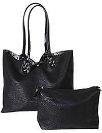 Elegante Animal Print Bolsa de hombro Fashion de piel sintética diophy bag-in-bag Mujer Bolso Cartera ab…