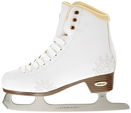 head figure amber patins glace pour femme blanc blanc le bon ski. Black Bedroom Furniture Sets. Home Design Ideas