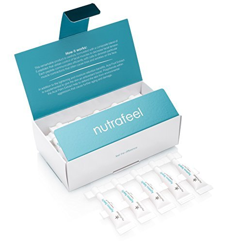 Ageless Beauty Instant Face Lift (25 Vials) - Drastically Reduces Wrinkles,  Bags, Lines, Puffiness & Dark Circles Instantly - Powerful Anti-wrinkle