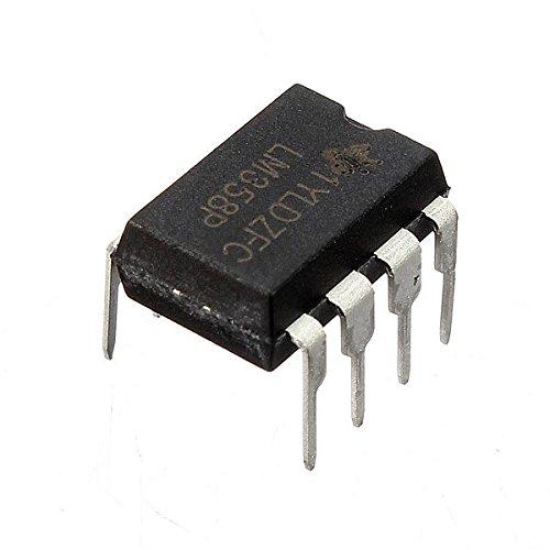 Bluelover 10 Pc Lm358P Lm358N Lm358 Dip-8 Chip Ic De Doble Amplificador Operacional (precio: 6,69€)