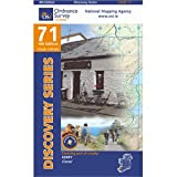 Ordnance Survey Ireland 71, Wanderkarte: Kerry, Tralee; 1:50.000, OSI