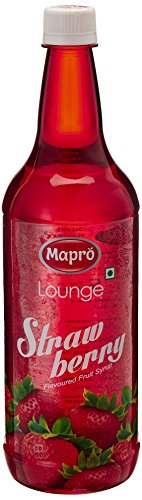 Mapro Strawberry Flavoured Fruit Syrup, 1l