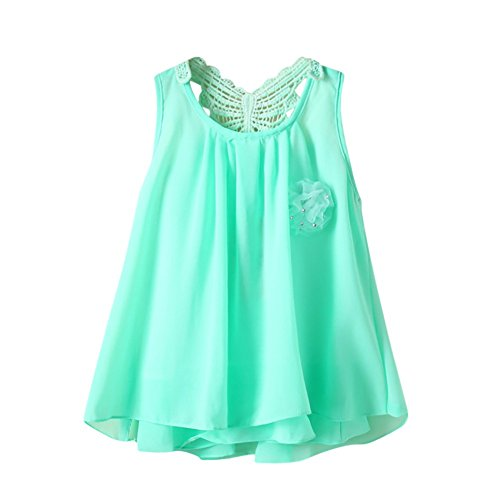 Amphia Mädchenkleid - Neugeborenes Baby-Feste Blumen-Schmetterlings-rückenfreie beiläufige Kleid