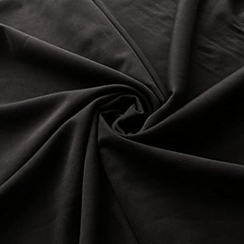 Black lingerie mesh fabric 150cm wide - great for sheer panels - by the metre