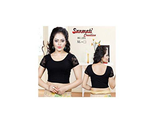 Indianstore24 Camicia - Donna Black