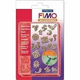 5 x Staedtler Fimo Motiv Form Ornamente