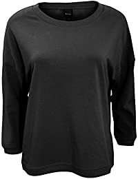 Bench Womens/Ladies Glorify 3/4 Sleeve Oversized Sweater/Jumper