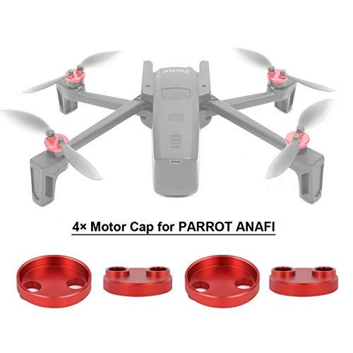 flycoo 4pcs tapón de Motor para Parrot Anafi Drone protección Accesorio Antipolvo...