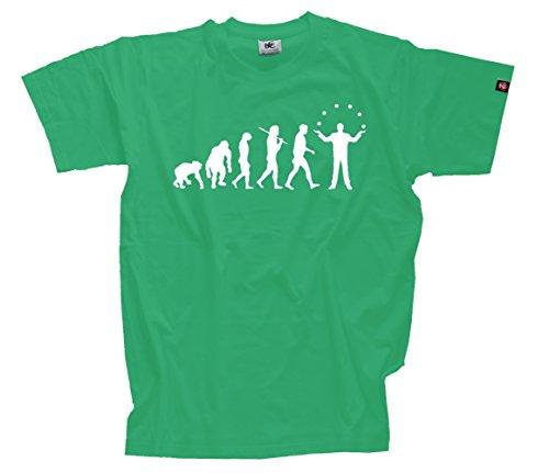T-Shirt Kelly XL Jongleur Jonglieren Artist Zauberer Manege Zirkus Evolution
