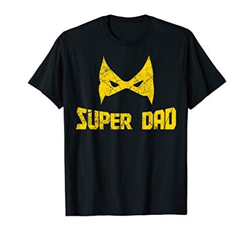 Super Kostüm Dad - Herren Vater Und Sohn Partnerlook Shirt Super Dad Super Papa T-Shirt