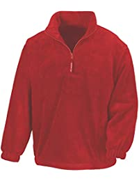 Result Mens Active Half Zip Fleece Jackets