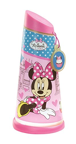 Worlds Apart 274Miz - 2 in 1 Nachtlicht und Taschenlampe Minnie Mouse, ca. 16,5 x 7,5 cm