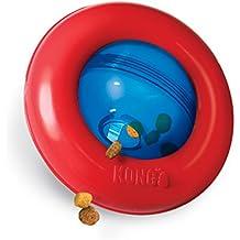 Kong Gyro funda acción irresistible rollo Spinning Orb dinámico jugar juguete perro