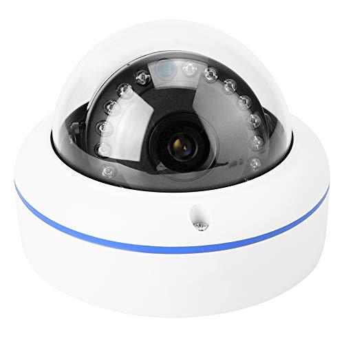 IP-Kamera, 720P HD WiFi drahtlose Sicherheits-Infrarotlicht-Nachtsicht-Bewegungserkennung mit POE-wasserdichter Hauben-Kamera für Innen- und im Freien - Im Web-kamera Freien