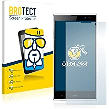 BROTECT AirGlass Protector Pantalla Cristal Flexible Transparente para iNew V3 Plus Protector Cristal Vidrio - Extra-Duro, Ultra-Ligero, Ultra-Claro