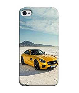 Fuson Designer Back Case Cover for Apple iPhone 5S (Driving Fast Racing Wheels Luxury car)