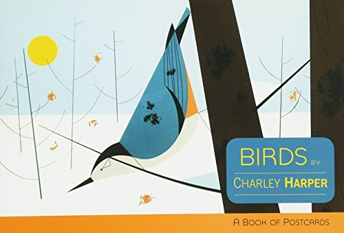 Birds by Charley Harper Book of Postcards AA628 (Books of Postcards)
