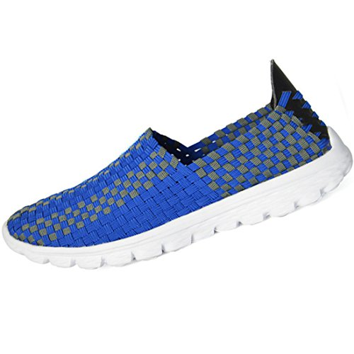 Men's Stretch Fabric Comfortable Outdoor Casual Shoes blue