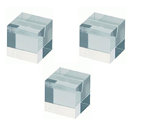3er Pack MAUL Notiz Fotohalter, Tischkartenhalter f. Hochzeit, Feier, aus Acryl, glasklar - 3 Pack Acryl