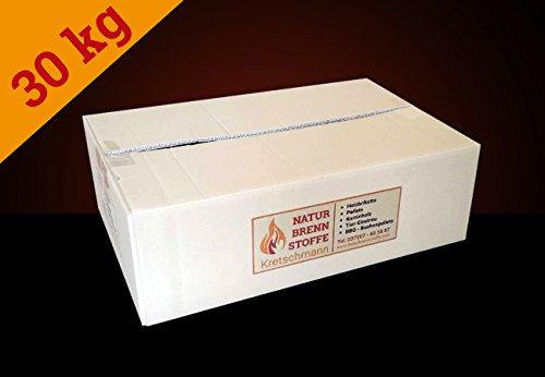 ▶ Testpaket Buchenholz Holzpellets zum Grillen, Räuchern Smoken, ohne Bindemittel hergestellt, Holz-Pellets, Smoker-Pellets, Grill-Pellets (30 kg)