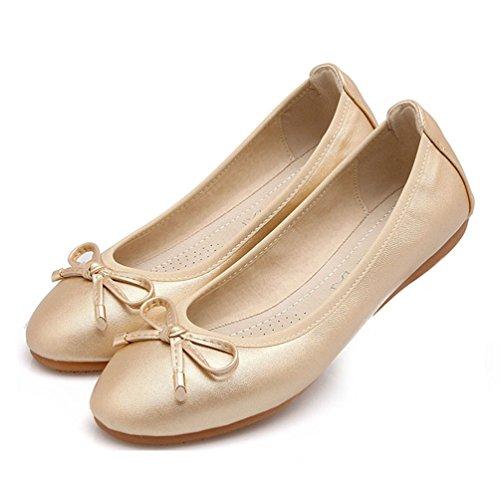 Chaussures plates, chaussures de sport maternité Or