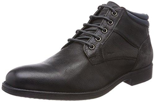 Geox Herren U Jaylon C Desert Boots, Grau (Black/Dk Grey), 44 EU