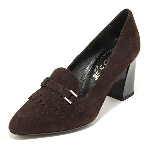 31143 decollete TOD 'S brown scarpa donna shoes women marrone testa di moro