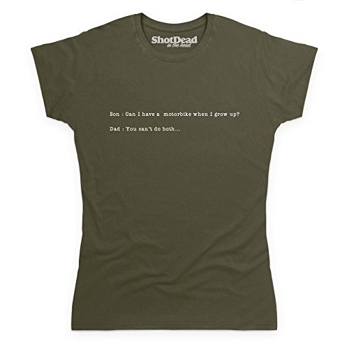 You Can't Do Both T-Shirt, Damen Olivgrn