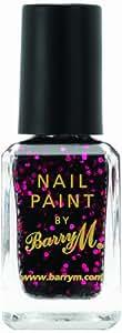 Barry M Cosmetics Glitter Nail Paint Ruby Glitter 10ml