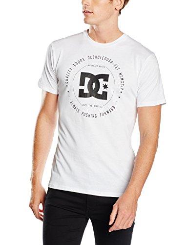 Snow White Rebuilt2 DC Shoes-Maglietta da uomo, taglia: S (taglia del produttore: S)
